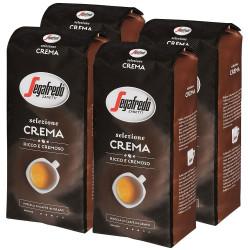 Segafredo Selezione Crema 4x1kg, zrnková káva