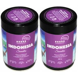 Cafepoint Indonesia Sumatra Svetlé praženie 2x250g, zrnková káva