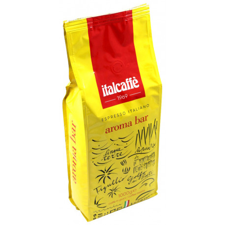 Italcaffé Aroma Bar 1kg, zrnková káva do kancelárie