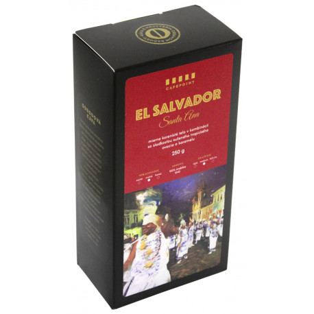 Cafepoint El Salvador SHG Washed 250g, zrno