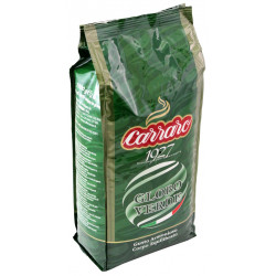 Carraro Globo Verde 1kg, zrnková káva
