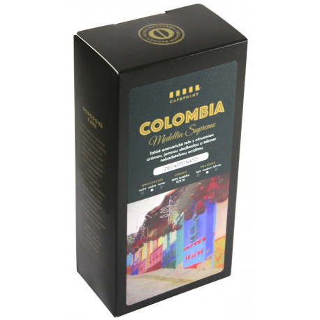 Cafepoint Colombia Decaf 250g, zrno