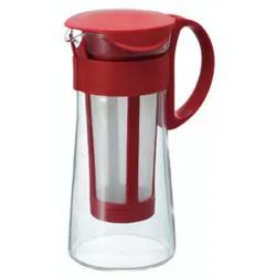 Hario Mizudashi Kávovar na prípravu studenej kávy Červený, 600ml