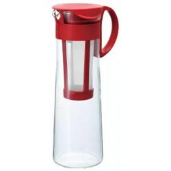 Hario Mizudashi Kávovar na prípravu studenej kávy Červený, 1L