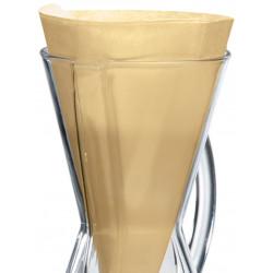 Chemex Coffeemaker Filter hnedý na 3 porcie, 100ks