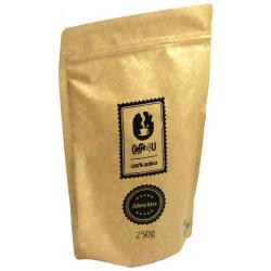 Caffe4U Zelená káva 250g, mletá