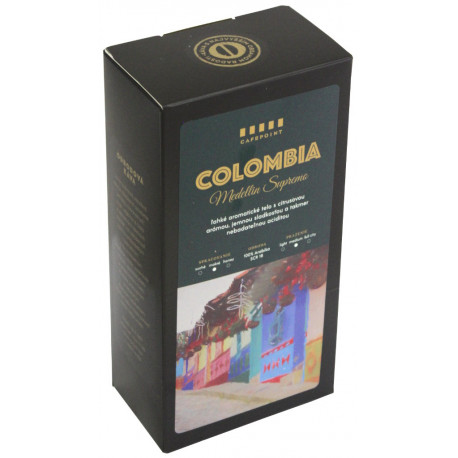 Cafepoint Colombia Supremo 18 250g, zrno