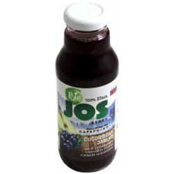 JOS Berry 25% Čučoriedková šťava Bio, 300ml