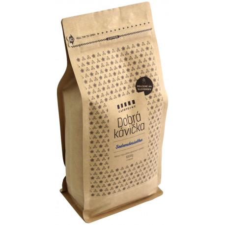 Dobrá Kávička Sedemdesiatka 1kg, zrnková káva