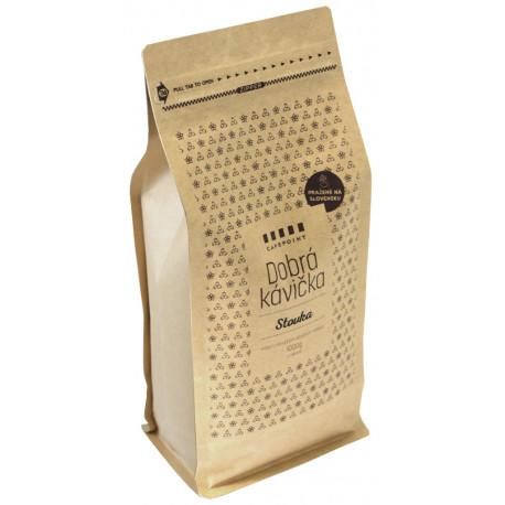 Dobrá Kávička Stovka 1kg, zrnková káva