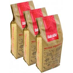Italcaffé Aroma Espresso 3x1kg, zrnková káva