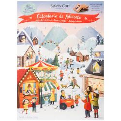 Simón Coll Adventný kalendár pre deti, 120g