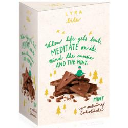 LYRA Bite Mliečna čokoláda Mäta, 100g