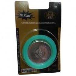 Tesnenie pre moka veľkosť 9-10 - 2ks, silikónové + filter