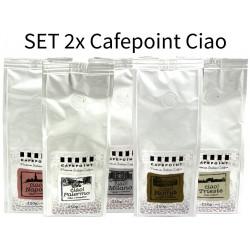 Set Cafepoint Ciao 5x250g, zrnková káva
