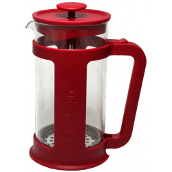 Bialetti French Press Smart červený, 1L