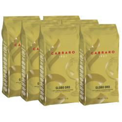 Carraro Globo Oro 6x1kg, zrnková káva