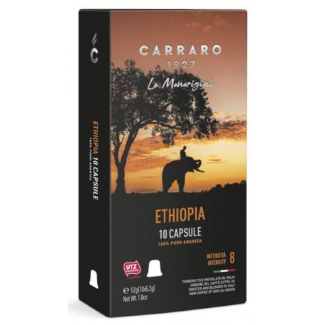 Carraro Ethiopia pre Nespresso, 10x5,2g