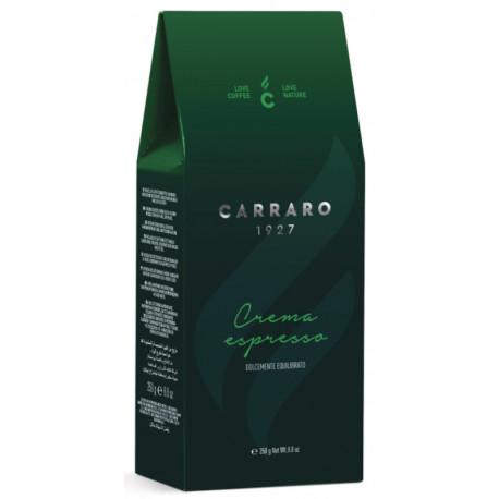 Carraro Crema Espresso 250g, mletá
