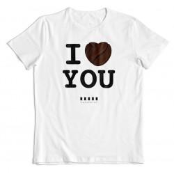 """Cafepoint tričko """"I LOVE YOU"""" pánske"""