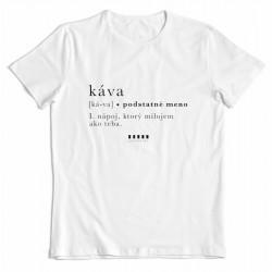"""Cafepoint tričko """"KÁVA"""" pánske"""
