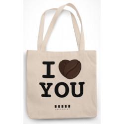 """Cafepoint taška """"I LOVE YOU"""""""