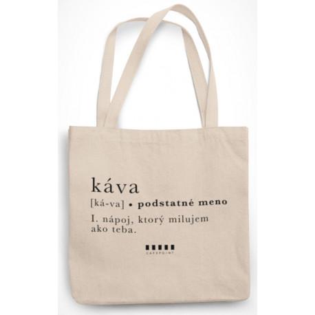 """Cafepoint taška """"KÁVA"""""""