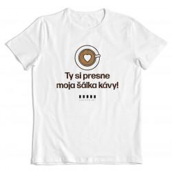"""Cafepoint tričko """"Moja šálka kávy"""" No.1 pánske"""