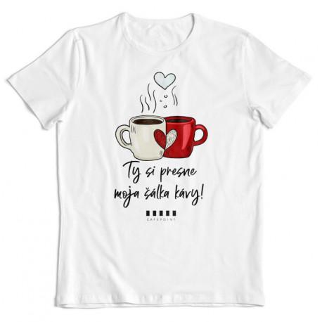 """Cafepoint tričko """"Moja šálka kávy"""" No.2 pánske"""