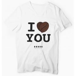 "Cafepoint tričko ""I LOVE YOU"" dámske"