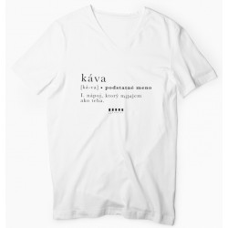 """Cafepoint tričko """"KÁVA"""" dámske"""
