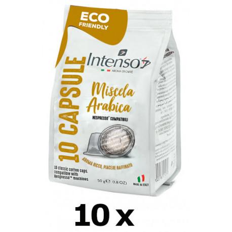 SET 10x Intenso 100% Arabica pre Nespresso, 10x5g