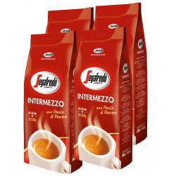 Segafredo Intermezzo 4x1kg, zrnková káva