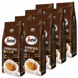 Segafredo Espresso Casa 8x1kg, zrnková káva