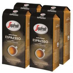 Segafredo Selezione Espresso 4x1kg, zrnková kávy