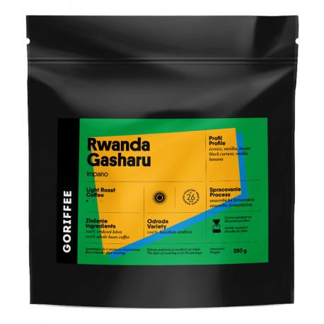 Goriffee Rwanda Gusharu Anaerobic light roast 250g, zrnková káva