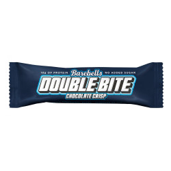 Barebells Proteínová tyčinka Double Bite Chocolate, 55g