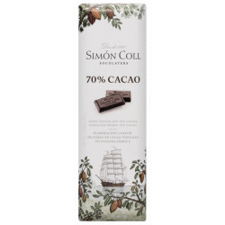 Simón Coll Horká čokoládka 70%, 25g
