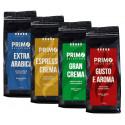 SET Primo Selezione 4x1kg MIX, zrnková káva