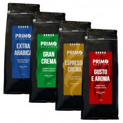 SET Primo Selezione 4x500g MIX, zrnková káva