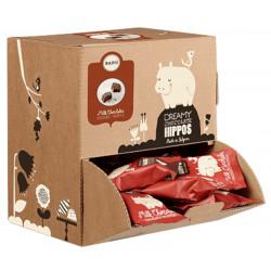 BARÚ Čokoládový hrošík so slaným karamelom, 34x15g