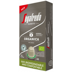 Segafredo Organica pre Nespresso, 10x5,1g