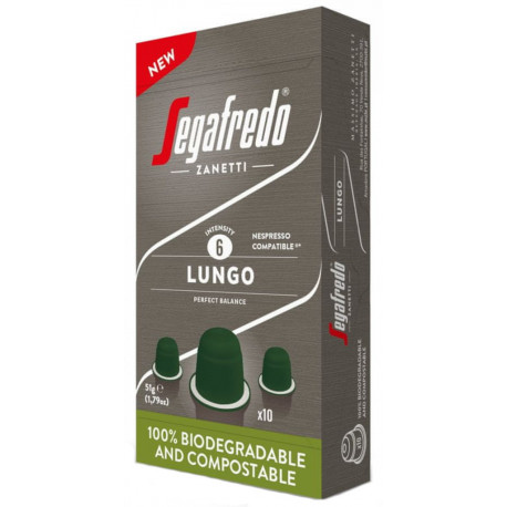 Segafredo Lungo pre Nespresso, 10x5,1g