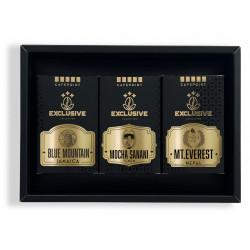 Cafepoint Set Exclusive Collection Coffee No.3 (Nepal Mt. Everest 125g, Yemen Mocha Sanani 125g, Jamaica Blue Mountain 125g)