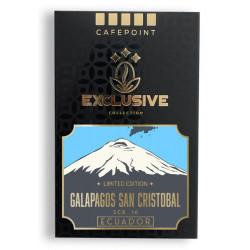Cafepoint Bio Ecuador Galapagos San Cristobal Scr.16 125g, zrnková káva
