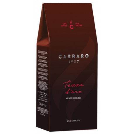 Carraro Tazza D´Oro 250g, mletá