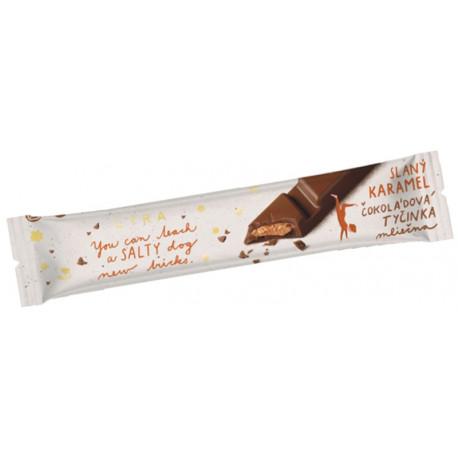 LYRA Čokoládová tyčinka Slaný karamel, 33g