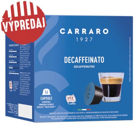 Carraro Decaffeinato pre Dolce Gusto, 16x7g