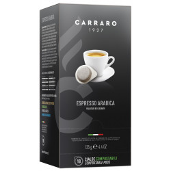 Carraro POD Espresso Arabica, 18x7g