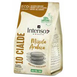 Intenso Arabica POD 10x7g Druh kávy-Zmes 100% Arabiky Krajina pôvodu-Brazília Obsah balenia-10 PODov Typ kapsulí alebo podov-Kávové pody